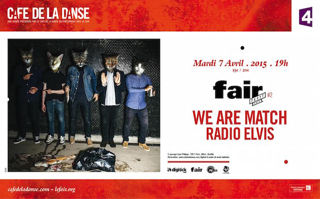 We Are Match au Café de la Danse